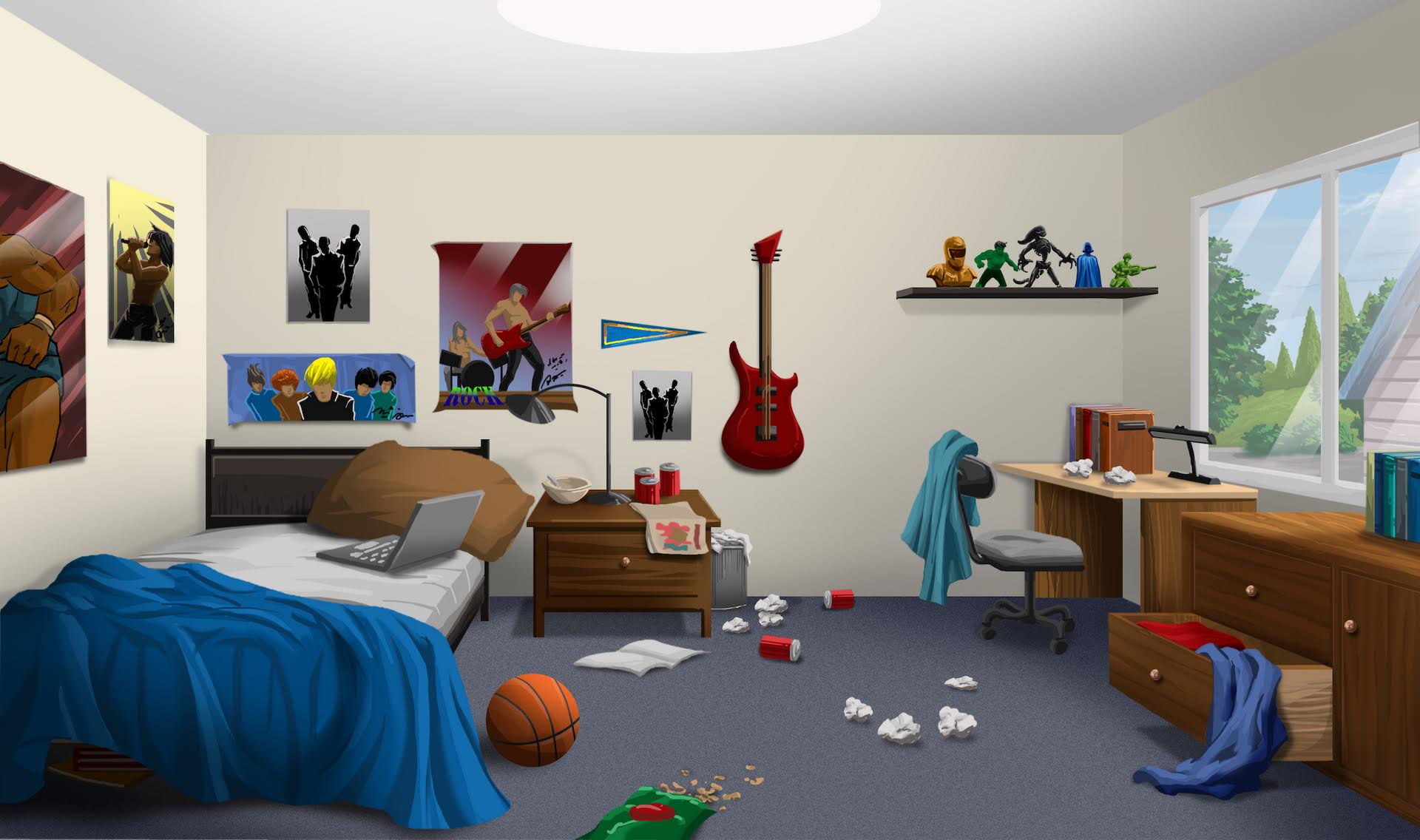 Official background request thread episodeinteractive forums - Boys bedroom images ...